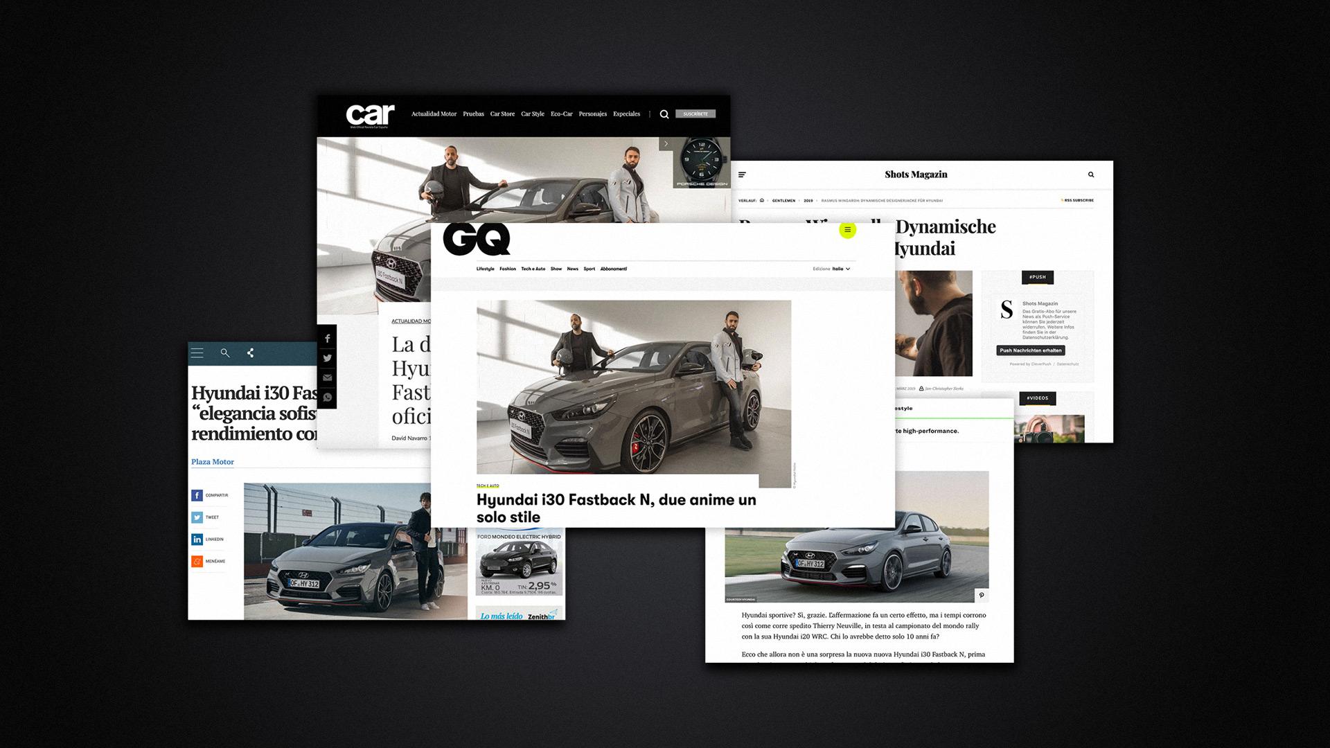 Hyundai i30 N Fastback Presse Mitteilungen