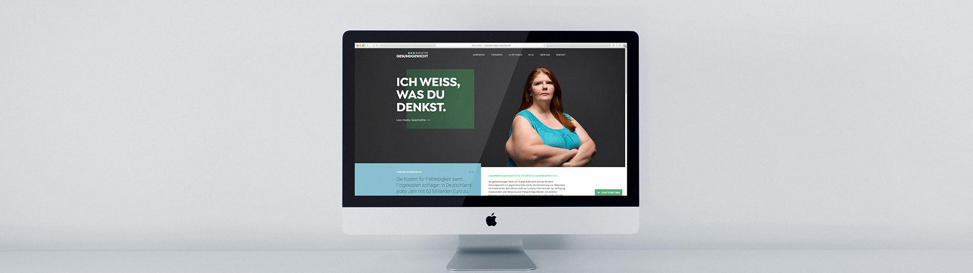 Initiative Gesund Gewicht Adipositas iMac