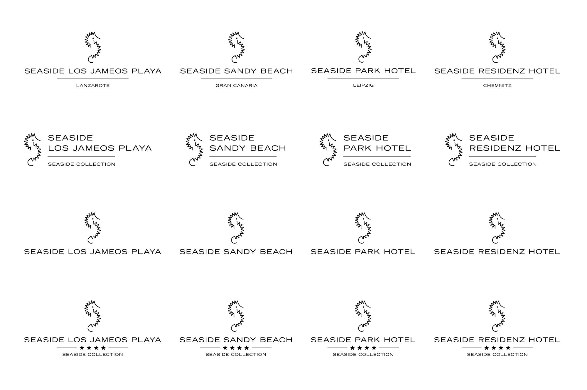 Seaside Logo Overview